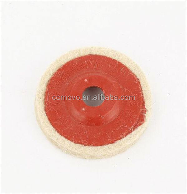 2016 new arrival lambswool abrasive metal grinding discs factory