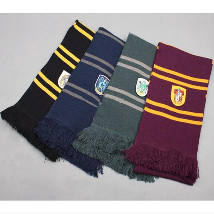 Wholesale Fashion Harry Potter Scarf For Gryffindor Ravenclaw And Slytherin
