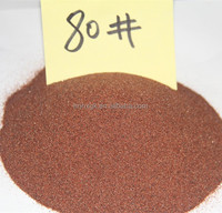 Garnet mesh 80 for water jet cutting from China supplier