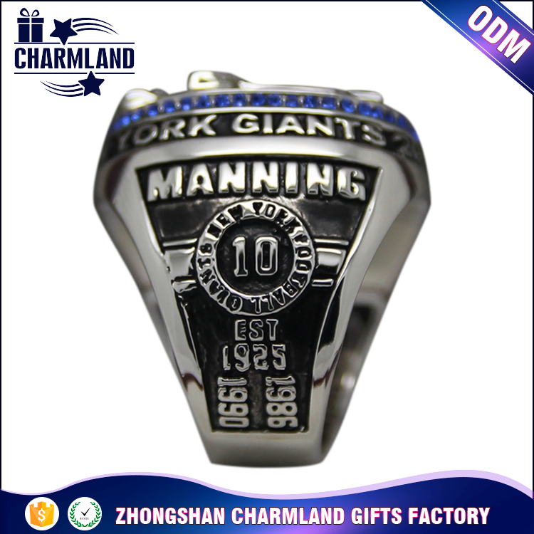 Free Sample Fantasy Super Bowl Championship Rings Replica Football Men's Ring