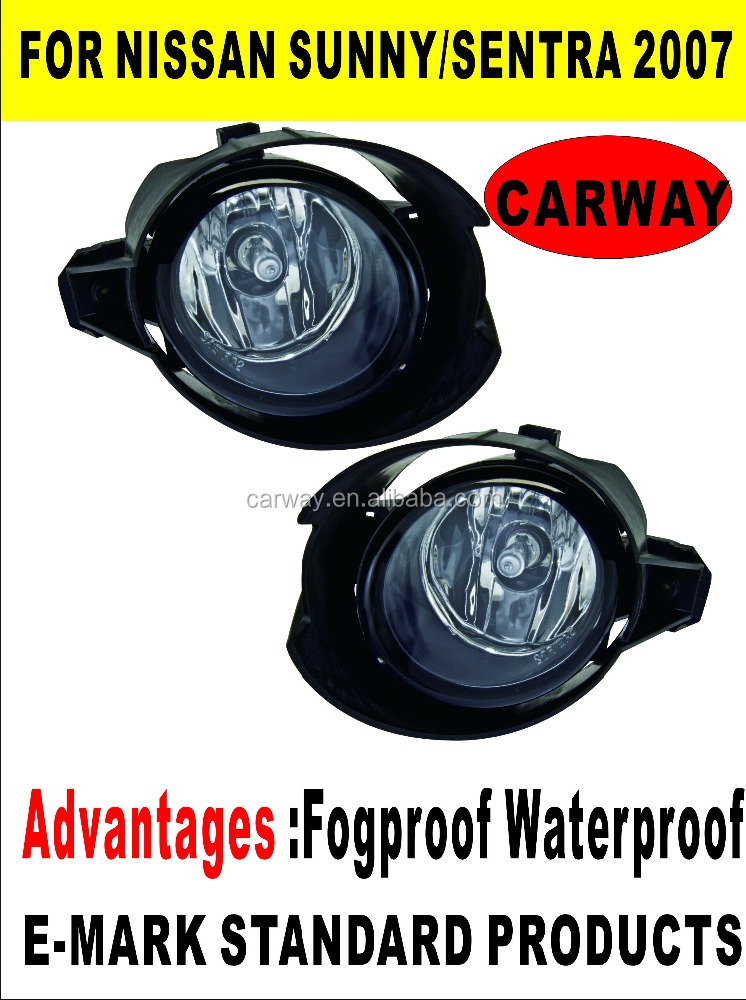 Fog lamp for Nissan Sunny Sentra 2007 US TYPE QUALITY AUTO SPARE PARTS