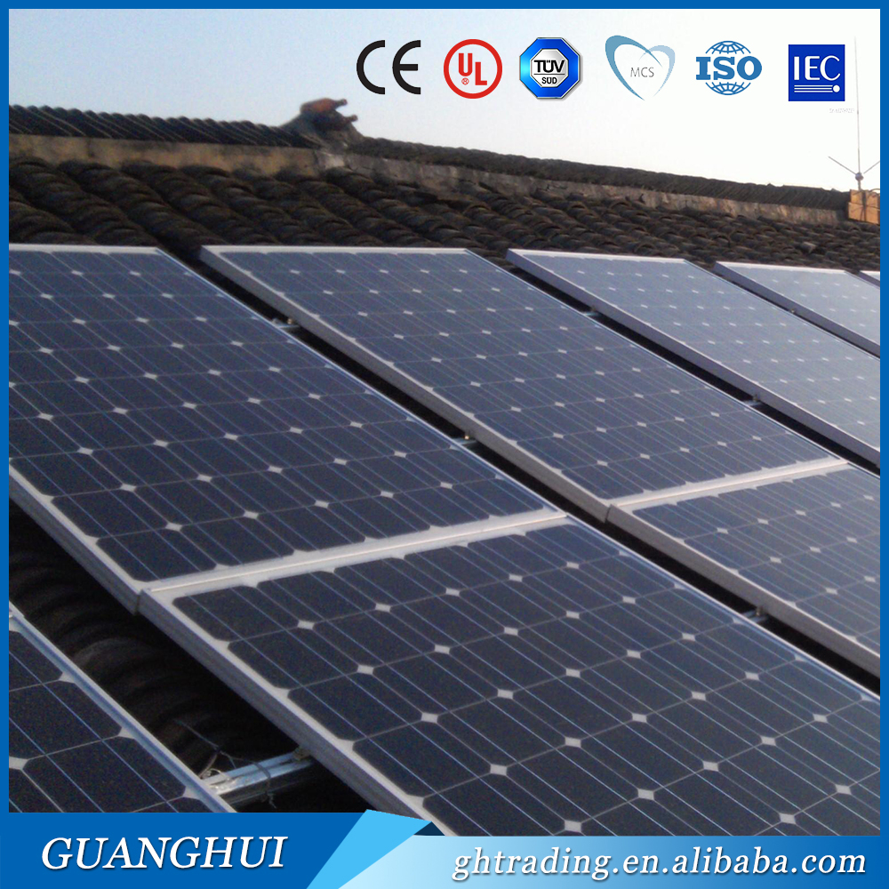100 watt mono solar panel monocrystalline the lowest price solar panel directly from factory