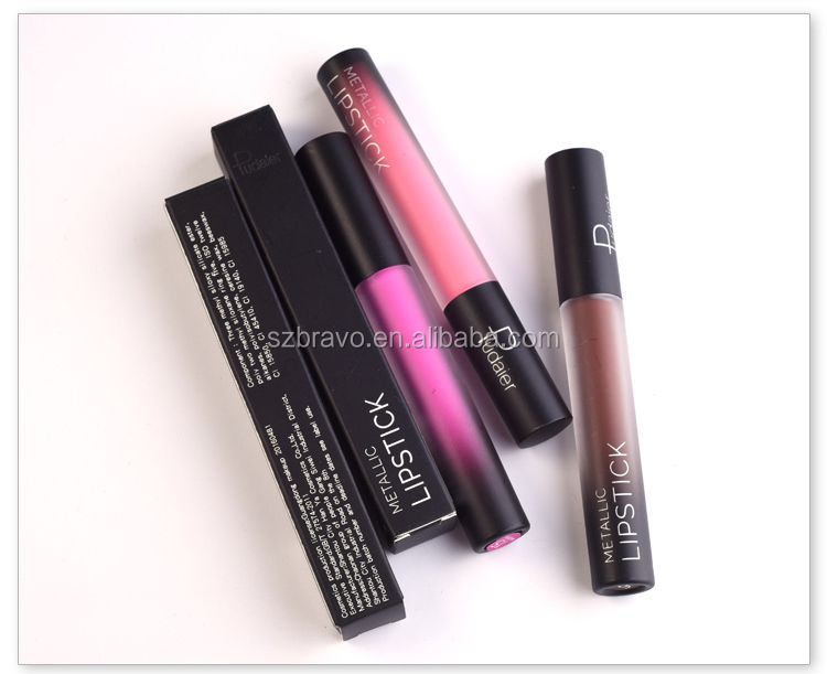 Hot Sale Cosmetic Waterproof Lip Gloss Private Label Long Lasting Matte Lipgloss with Hight Quality