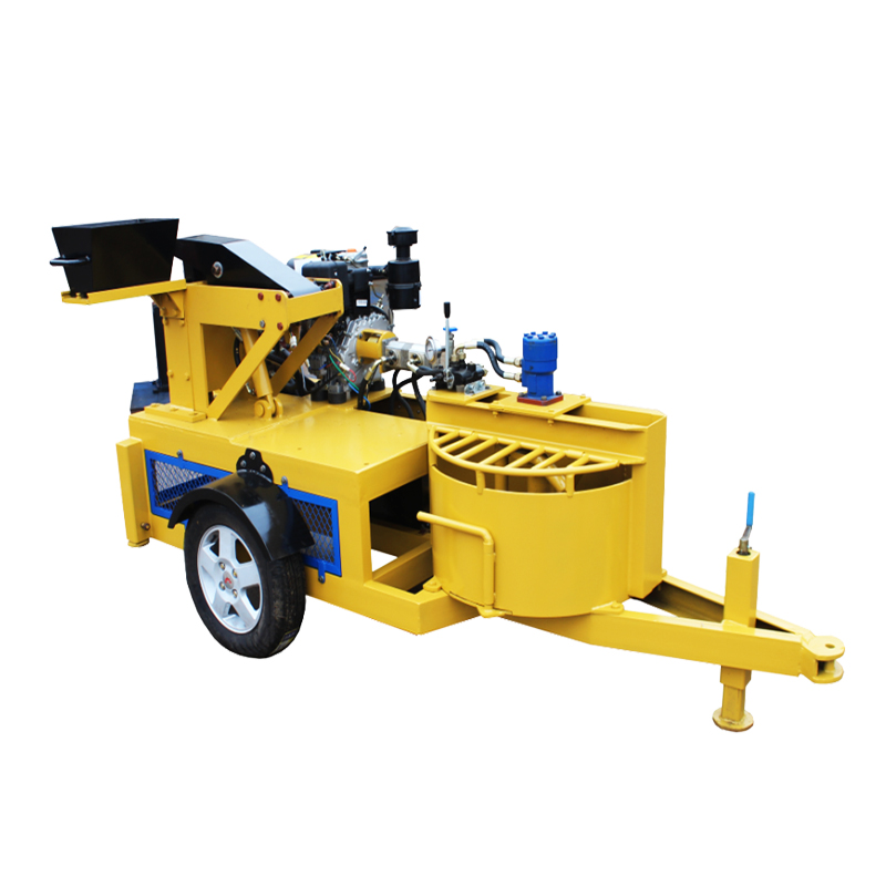 Building equipment customized color diesel block making machine