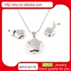 hot new products for 2015 jewelry stainless steel star shape jewelry set
