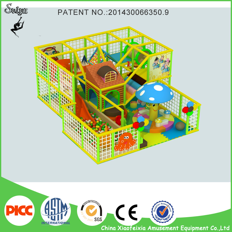 Plastic Playground Material and Indoor Playground Type Kids Used Indoor Party Playground Equipment