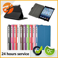2015 popular high quality hot forming tablet case for ipad mini 2 leather case,smart cover case for ipad mini 2
