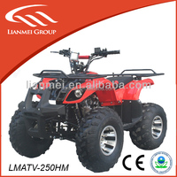 new style of 250cc quad atv with fashion looking strong horsepower for cheap sale made in china