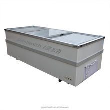Green&Health Ice Cream Display Freezer Used Deep Freezer for Convenient Stores Chest Type Deep freezer for Sales