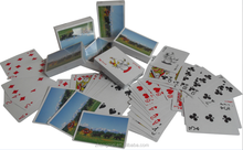 Custom promotional paper bridge poker playing cards