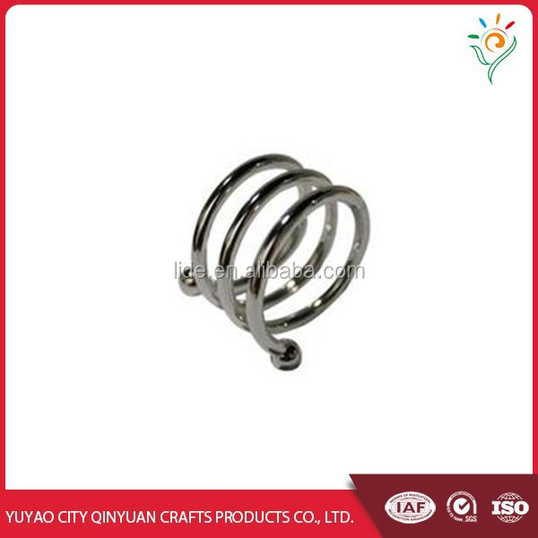 Stainless steel or metal rattan napkin ring
