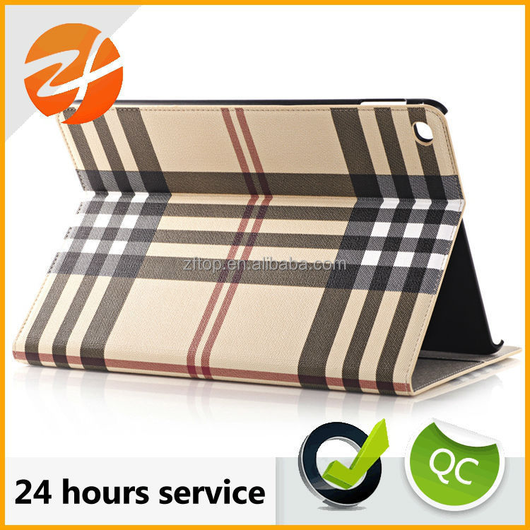 Hot selling tablet leather case for ipad air 2, for ipad 2 case with credit card slot,rugged case for ipad air 2