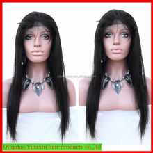 New coming factory unprocessed wholesale elastic band brazilian hair glueless full lace wig