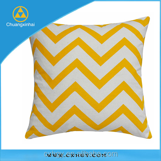 Promotional Decoration Chevron Cushion Pillow/Throw Pillow