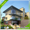 Luxury prefab house precast concrete partition wall panel home