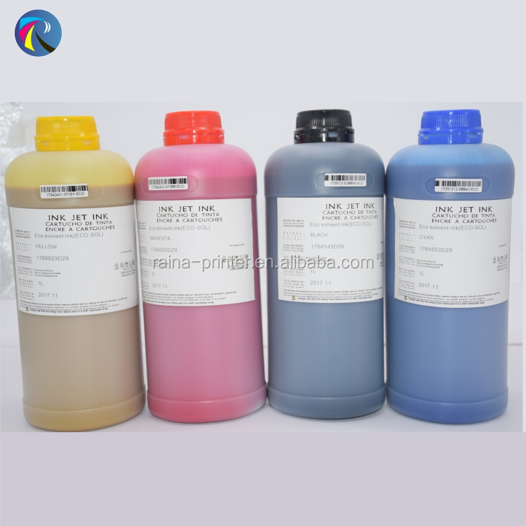 Flex banner printing eco solvent ink for dx5 dx7 print head pigment ink printers buy direct from china factory