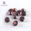 100% natural loose round mozambique garnet gemstones