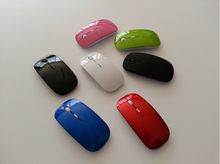 NEW 2.4G colorful Wireless Ultra-Thin Optical Mouse for Laptop Desktop Notebook USB Adapter Mouse Keyboard Universal