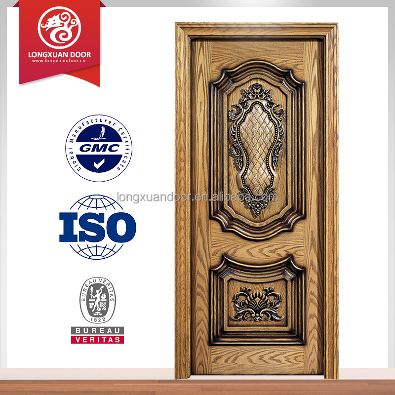 Wooden single double main door design teak wood main for Wooden single door design for home