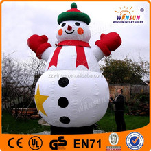 christmas great sales lovely inflatable christmas snowman