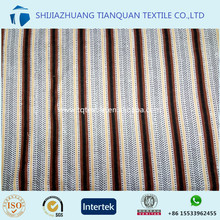 57/58inch cotton custom printed flannel yellow blue white stripe fabric