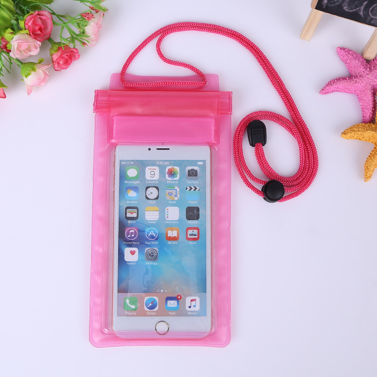 Chinese factory production low price straps pvc waterproof mobile phone bag
