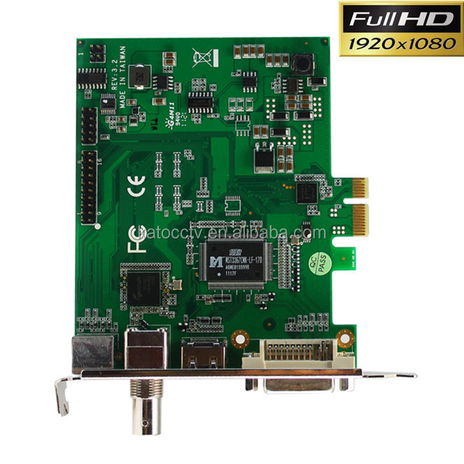 HD Camera Video Capture Card 4 channel software dvr card