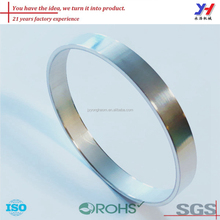 Custom made precise aluminum rings for wheelchair model
