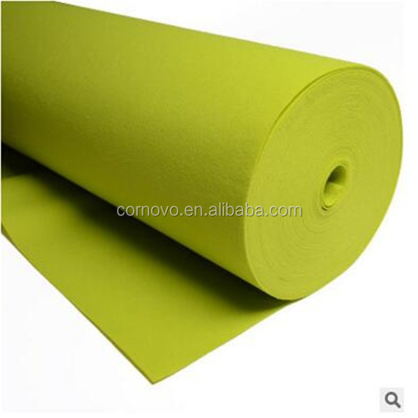 China factory 6mm auto felt carpet nonwoven wholesale