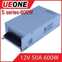High quality open frame 50a switching power supply 12v 600w