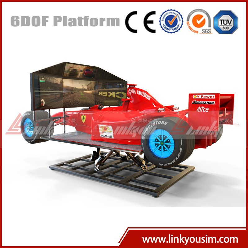 China Playground Equipment Factory Direct Sale racing simulator seat / play seat with cheap price