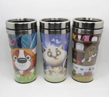 stainless steel DIY travel tumbler with paper insert