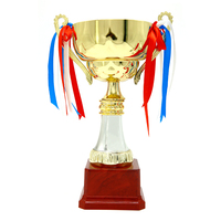 2019 wholesale stock sales cup shape competition cup gold award trophy
