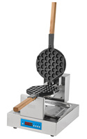 Digital Eggette Waffle Baker Machine / Popular Bubble Waffle Maker / Egg Ball Is Famous Dessert Around The World