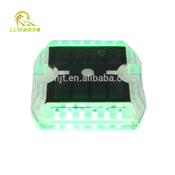 Easy installed PC plastic ground solar street led light