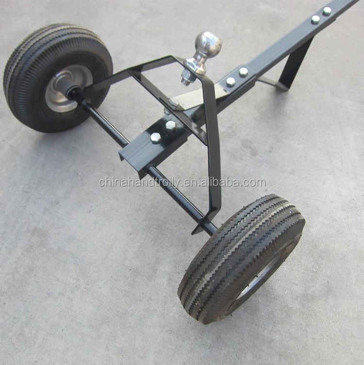 Dos ruedas mano remolque carro de mano carros y for Carretilla dos ruedas mano