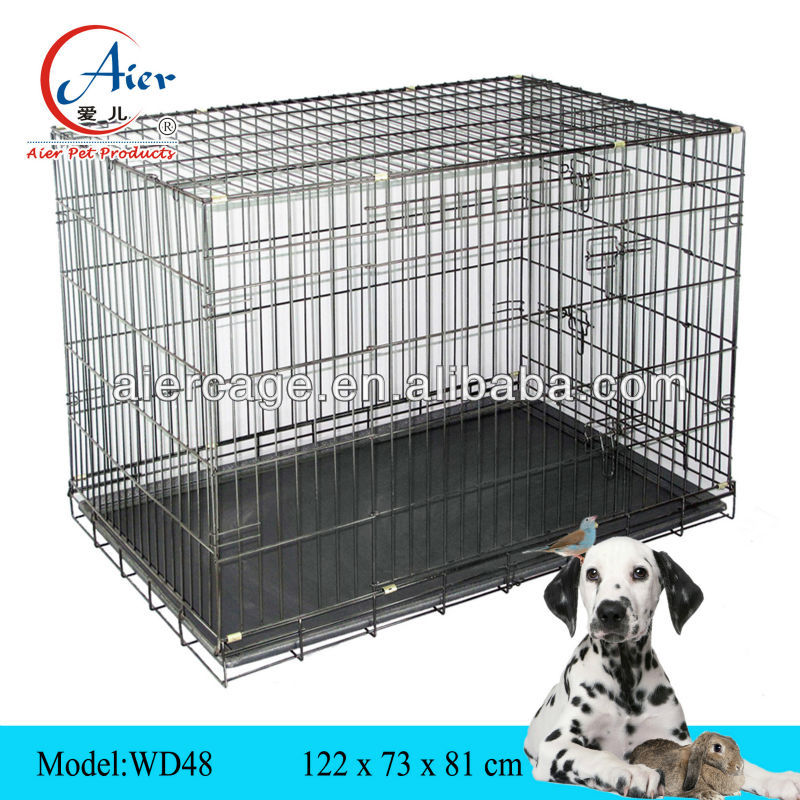 folding large dog house pet cage kennel WD48