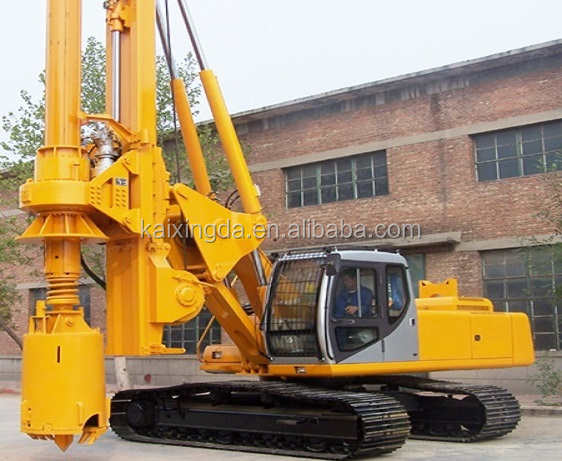 KXD12 type hydraulic crawler rotary drill