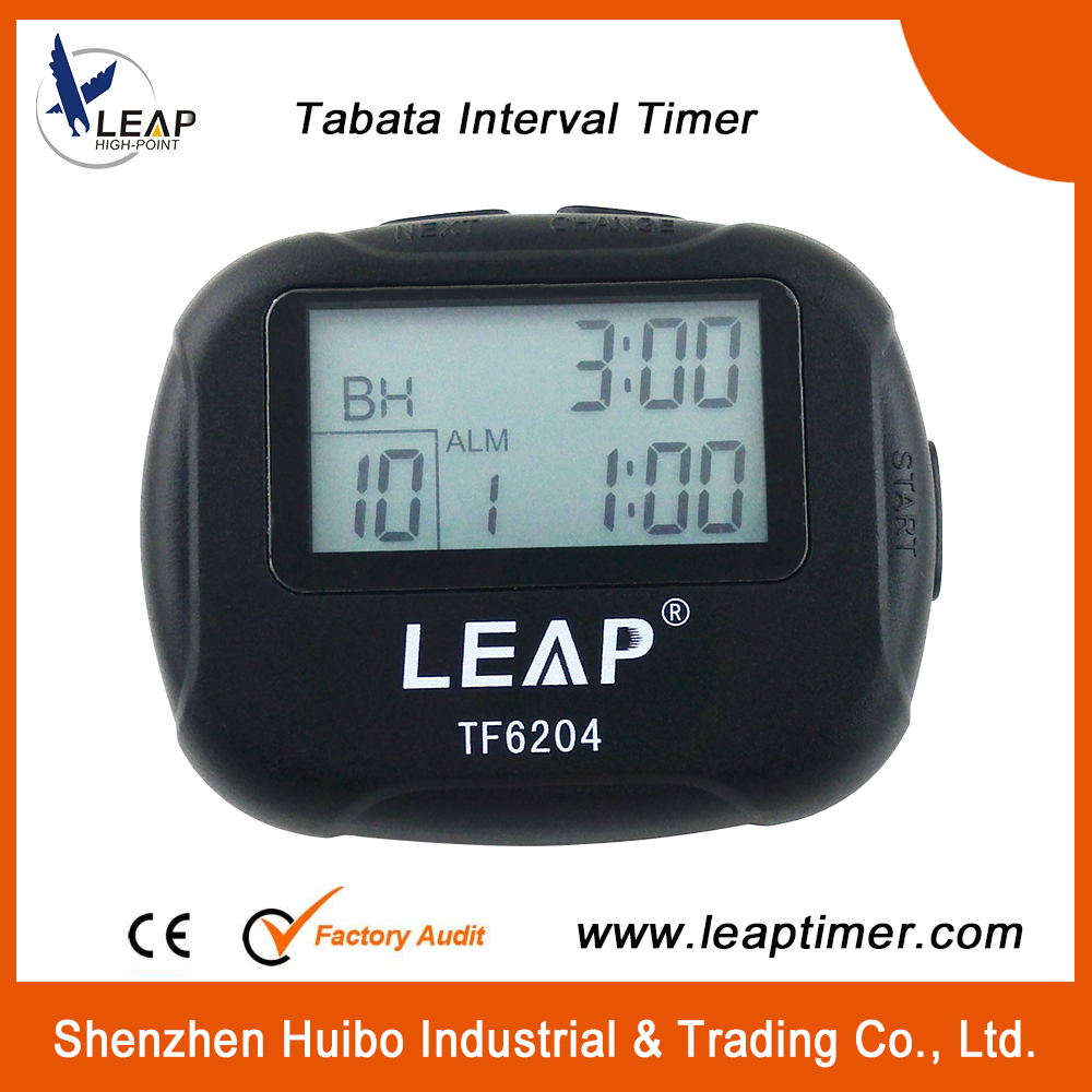 Training Electronics Interval Timer Segment Stopwatch Interval Chronograph for Sports Yoga