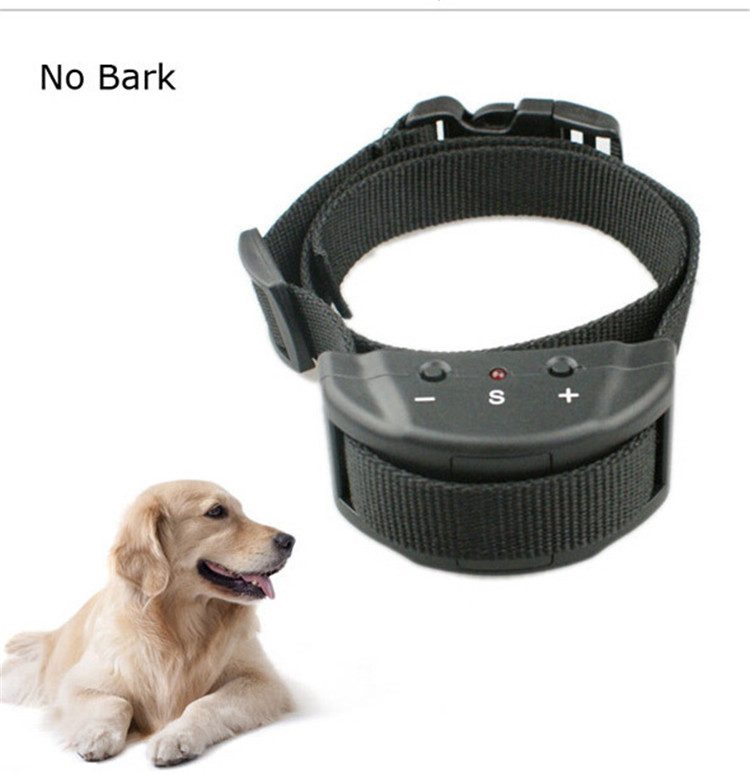 2017 China Supplier Electronic Pet Dog Training Collar Outdoor No Shock Anti Bark Collar
