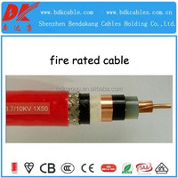halogen-free flame retardant cable fire resistant medium voltage cu/xlpe/ power cable 11kv fire rated with earth wire by as/nzs
