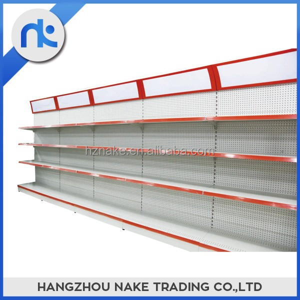 China suppliers 4 layers metal supermarket shelves