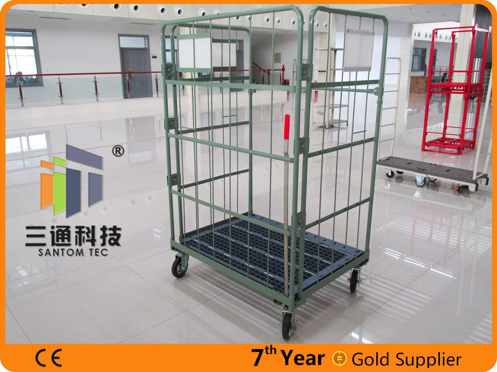 warehouse trolley roll cage
