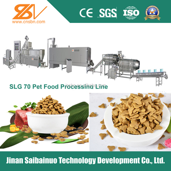 Full-auto pet food processing machine