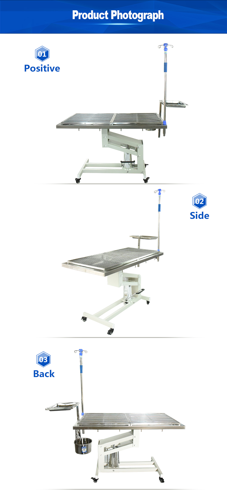 Surgery surgical clinic operation table veterinary equipment veterinary table