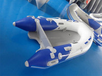 SANJ CE Approved PVC Hull Inflatable Boat with Electric Motor