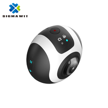1080P Wifi 4K Mini Sport Action Camera with Dual Fisheye Lens