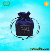 custom velvet jewelry bag /velvet drawstring bag/velvet pouch bag