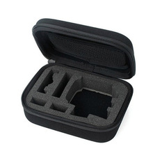 portable nylon fabric eva tool case and box with foam insert for instrument