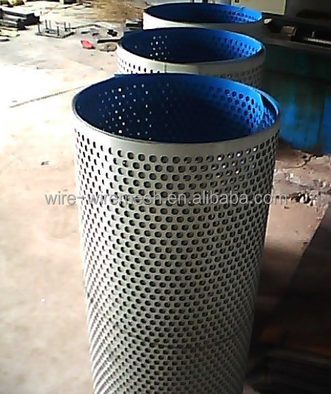 Punched wire mesh,perforated metal sheet,punch hole mesh